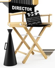 Revista mercado negro 21 especial realizaci n audiovisual - Sillas director de cine ...
