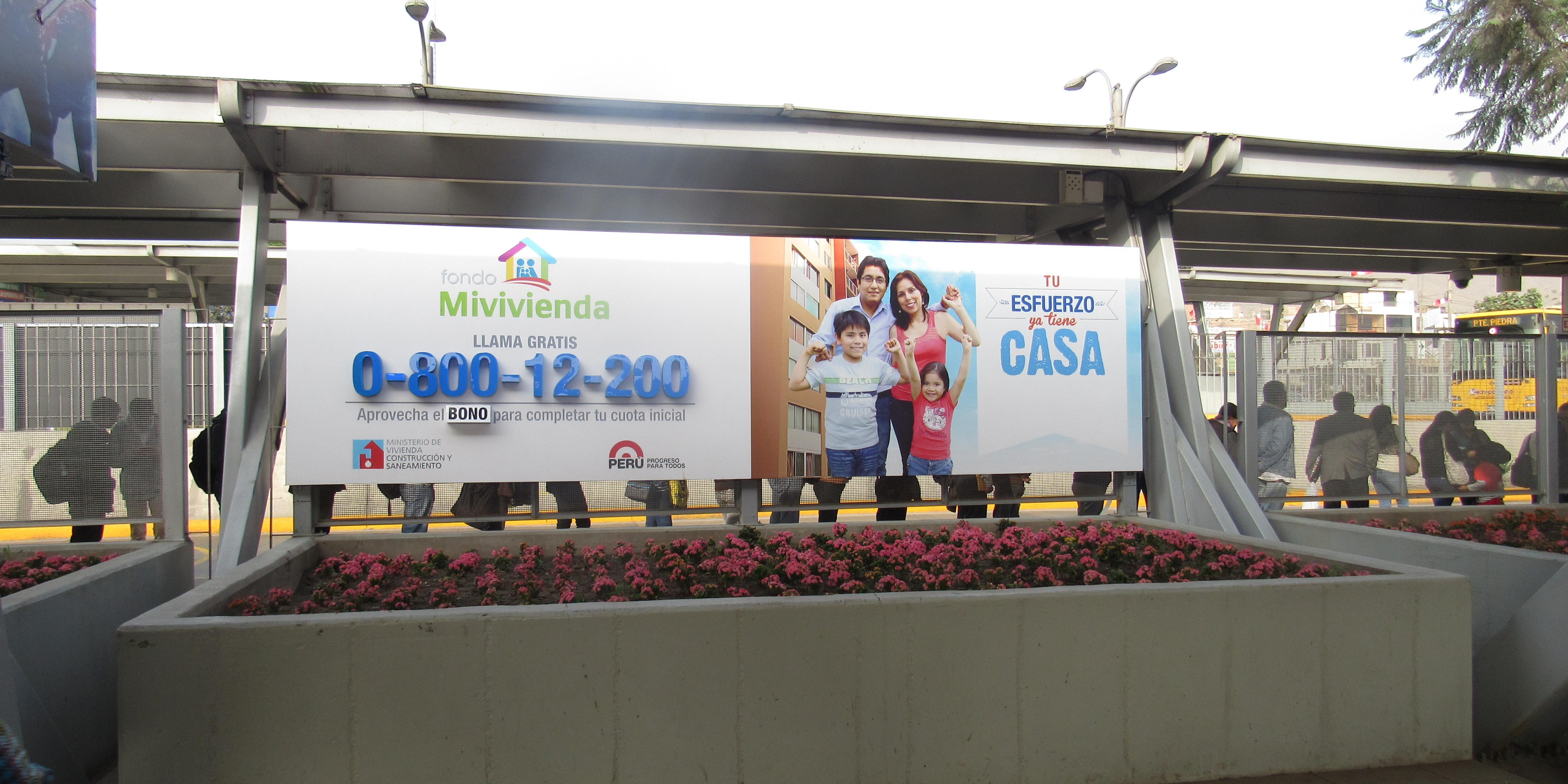 Fondo mivivienda realiza publicidad indoor mercadonegro for Mi vivienda