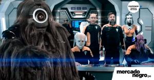 Personajes galácticos invaden el nuevo spot del BCP