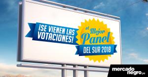 """El lunes 12 de febrero inician las votaciones para """"El mejor panel del sur 2018"""""""