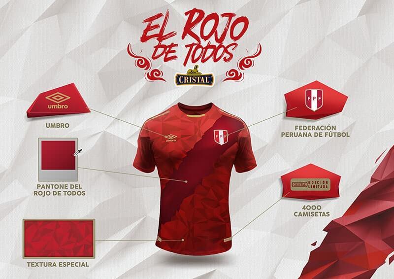 FPF y Cristal presenta la tercera camiseta de la selección con ... 17f671fea4424