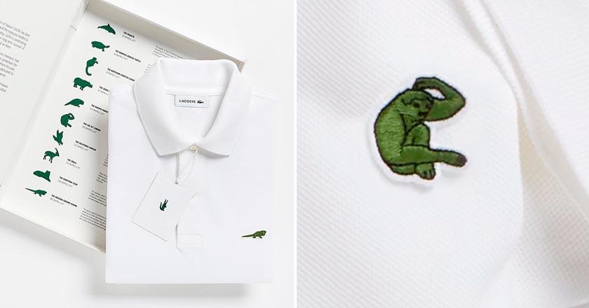 b7bf4669fb8 Lacoste cambia su logo por figuras de animales en peligro de ...