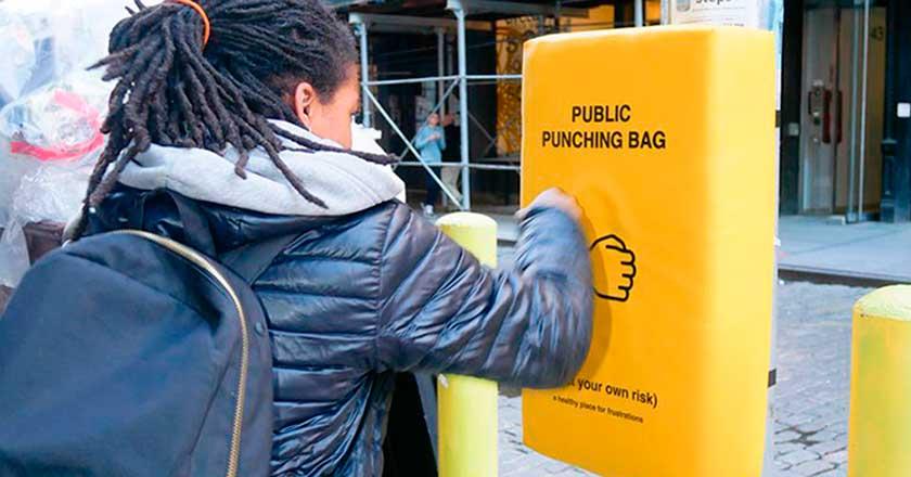 Una idea con la que podrás descargar tu ira en cualquier esquina de la ciudad