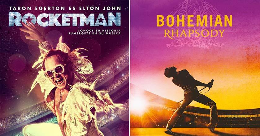 ¿Elton John destronará a Bohemian Rhapsody tras estreno de Rocketman?