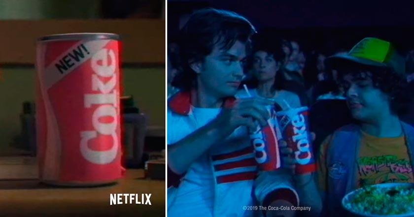 "Netflix revive la ""New Coke"" en su tercera temporada de Stranger Things"