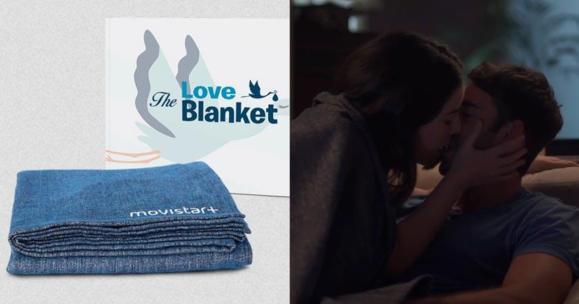 """""""The Love Blanket"""" la solución de Movistar contra la caída de la tasa de natalidad"""