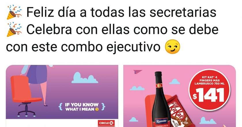 """Esta cadena crea """"combos ejecutivos"""" con preservativos para el Día de la Secretaria"""