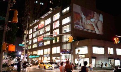 """Esta red social para adultos presenta su nueva campaña por todo """"lo alto"""" de Nueva York"""