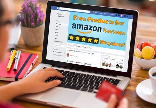 Grupos de Facebook se dedican a reseñas falsas de Amazon