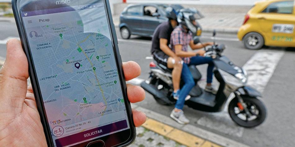 Picap, el aplicativo informal de mototaxis lineales en Perú
