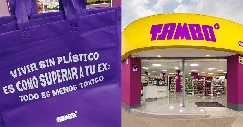 Tambo Lanza Bolsas Ecológicas Con Creativas Frases