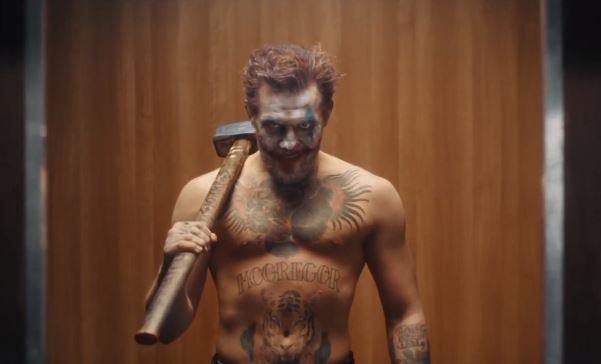 McGregor vuelve al octágono, pero primero protagoniza al Jocker en esta campaña