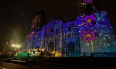 Panetón D'Onofrio proyectó cuento navideño sobre la Catedral de Lima