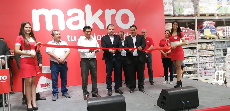 Makro inaugura tienda en Huacho